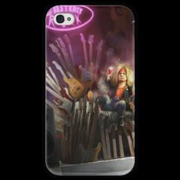 """Чехол для iPhone 4 глянцевый, с полной запечаткой """"Тирион Ланнистер"""" - джордж мартин, игра престолов, game of thrones, tyrion lannister"""