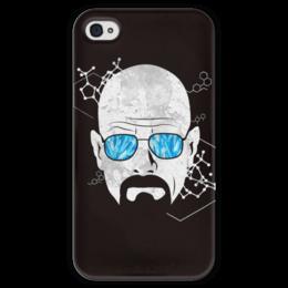 """Чехол для iPhone 4 глянцевый, с полной запечаткой """"Хайзенберг"""" - во все тяжкие, breaking bad, heisenberg, хайзенберг"""