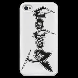 """Чехол для iPhone 4 глянцевый, с полной запечаткой """"Веном"""" - marvel comics, веном, паучок"""