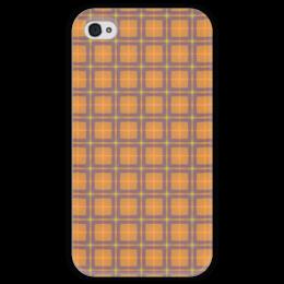 """Чехол для iPhone 4 глянцевый, с полной запечаткой """"Колыбельная """" - арт, узор, абстракция, фигуры, текстура"""