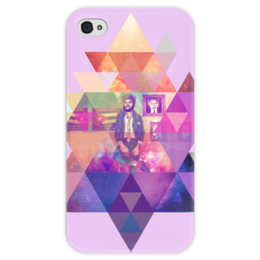 "Чехол для iPhone 4 глянцевый, с полной запечаткой """"HIPSTA SWAG"" collection: Che Guevara"" - че гевара, swag, свэг, che guevara"