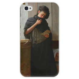 """Чехол для iPhone 4 глянцевый, с полной запечаткой """"Саудади (Saudade)"""" - картина, жуниор"""