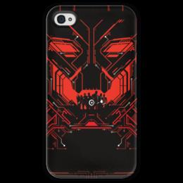 """Чехол для iPhone 4 глянцевый, с полной запечаткой """"Мстители: Эра Альтрона"""" - комиксы, avengers, марвел, альтрон, ultron"""