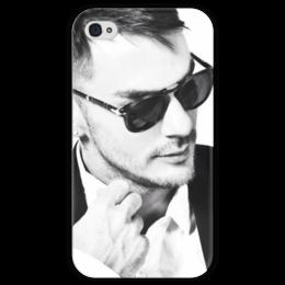 "Чехол для iPhone 4 глянцевый, с полной запечаткой ""Шеннон Лето"" - 30 seconds to mars, echelon, шеннон лето, shannon leto, 30stm"