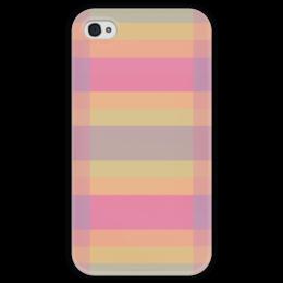 """Чехол для iPhone 4 глянцевый, с полной запечаткой """"Tf3olo"""" - арт, узор, абстракция, текстура"""