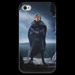"""Чехол для iPhone 4 глянцевый, с полной запечаткой """"Звездные войны - Люк Скайуокер"""" - фантастика, звездные войны, дарт вейдер, кино, star wars"""