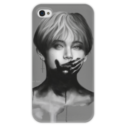 """Чехол для iPhone 4 глянцевый, с полной запечаткой """"Monster?"""" - korea, kpop, корея, bts"""