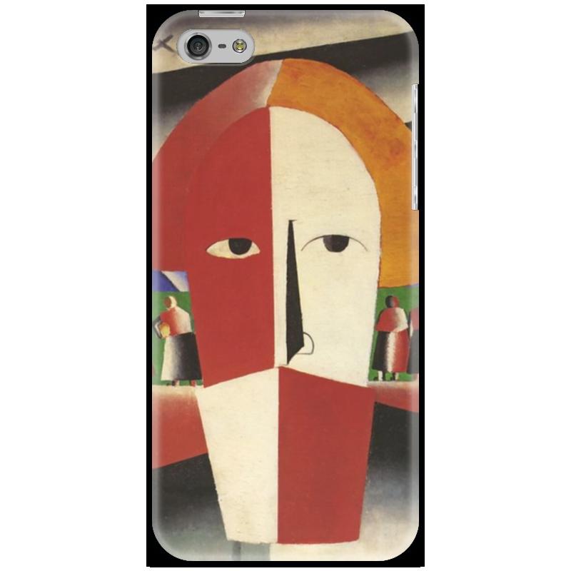Чехол для iPhone 5 Printio Голова крестьянина (казимир малевич)