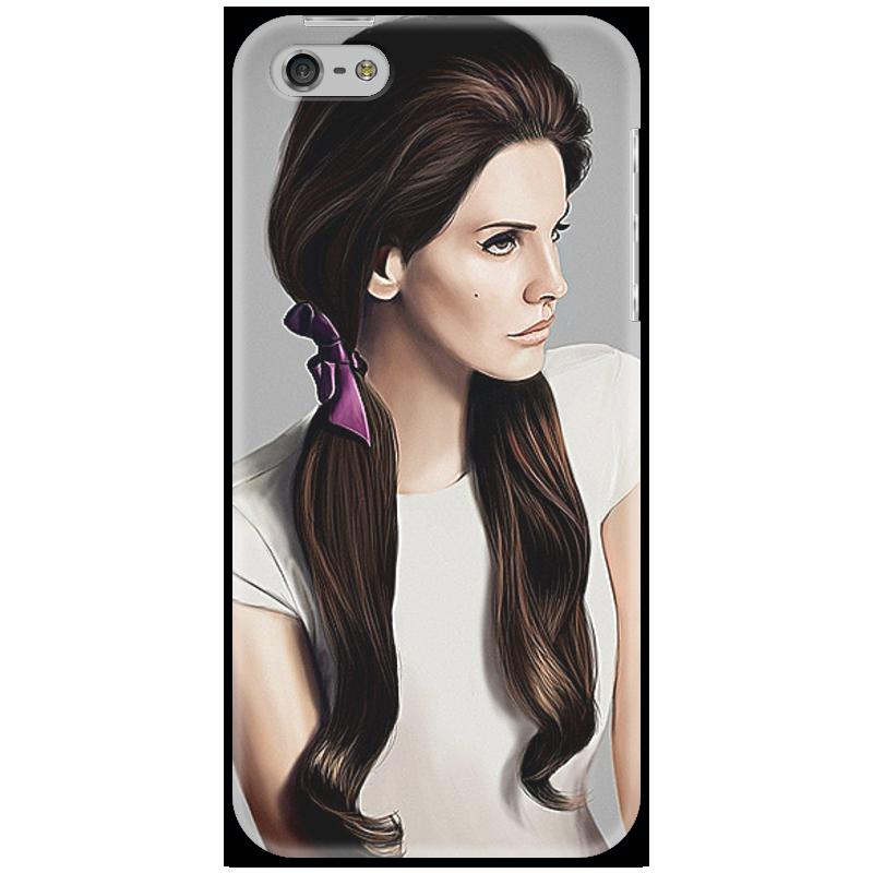 Чехол для iPhone 5 Printio Чехол с нарисованным изображением певицы чехол