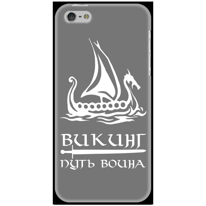 Чехол для iPhone 5 Printio Ладья свободы национализация рубля путь к свободе россии мяг обл