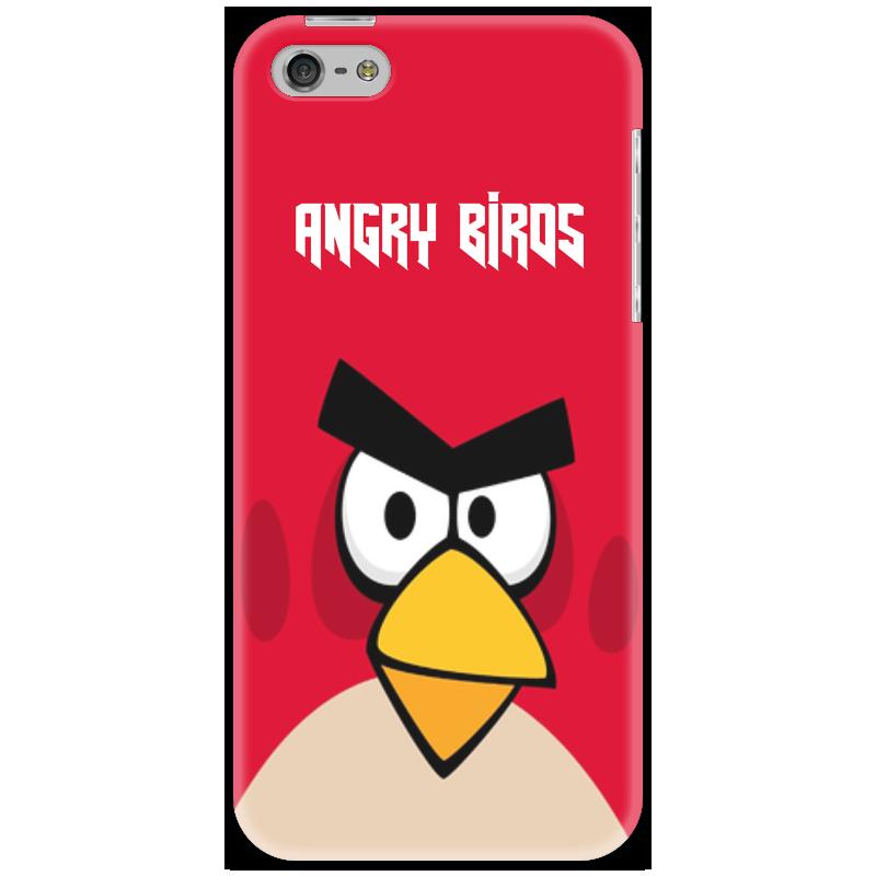 Чехол для iPhone 5 Printio Angry birds (terence) сапоги резиновые angry birds transformers 5348 размер 23 цвет черные