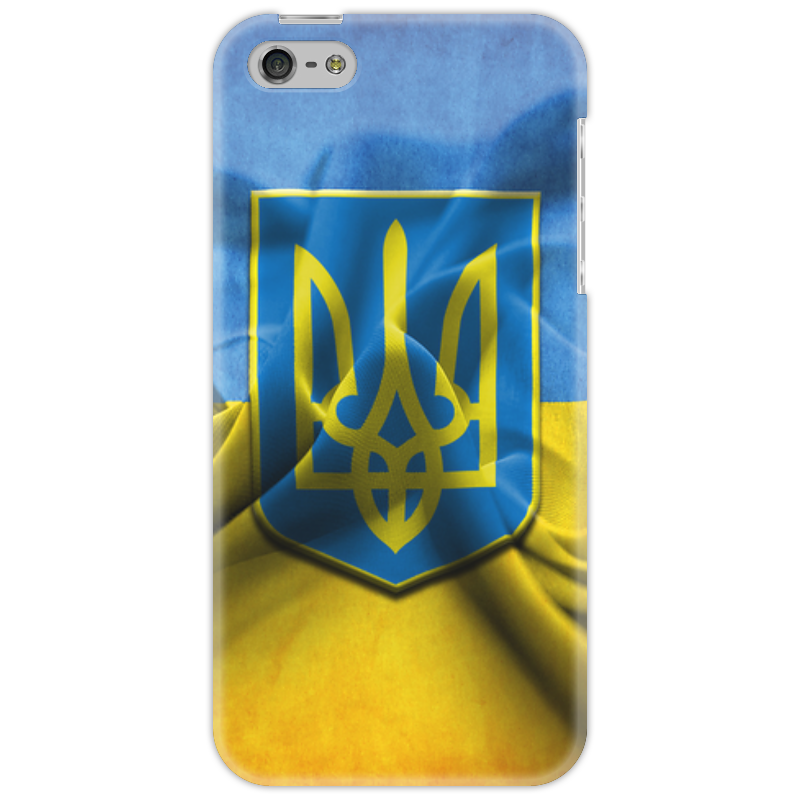 Чехол для iPhone 5 Printio Флаг украины