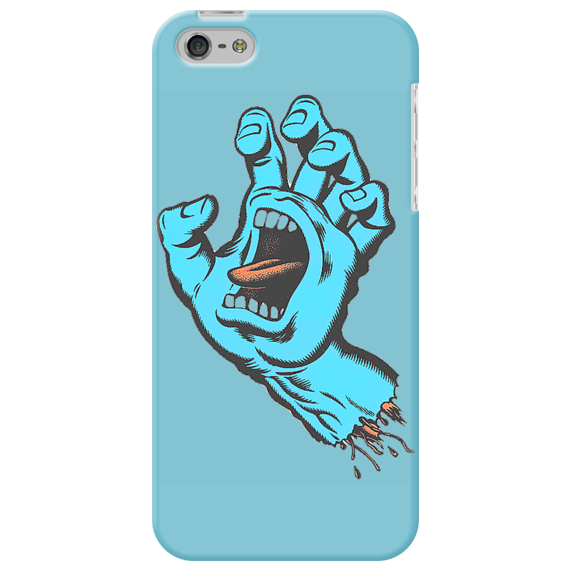 Чехол для iPhone 5 Printio Santa cruz футболка santa cruz bone hand athletic heather