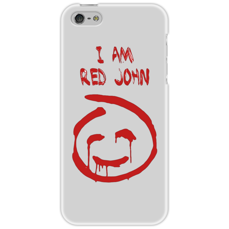 Чехол для iPhone 5 Printio Смайлик red john (the mentalist) the john green collection комплект из 5 книг
