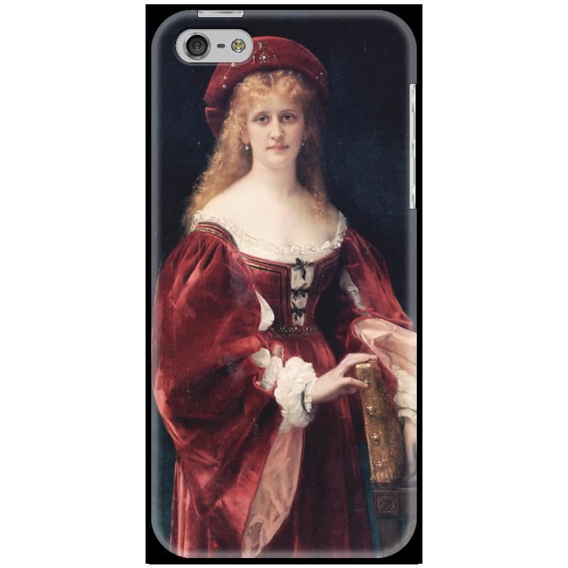 Чехол для iPhone 5 Printio Портрет аристократки из венеции прогулки по венеции