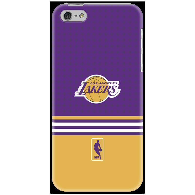 Чехол для iPhone 5 Printio Lakers case pro чехол для iphone 5 глянцевый с полной запечаткой printio lakers case pro