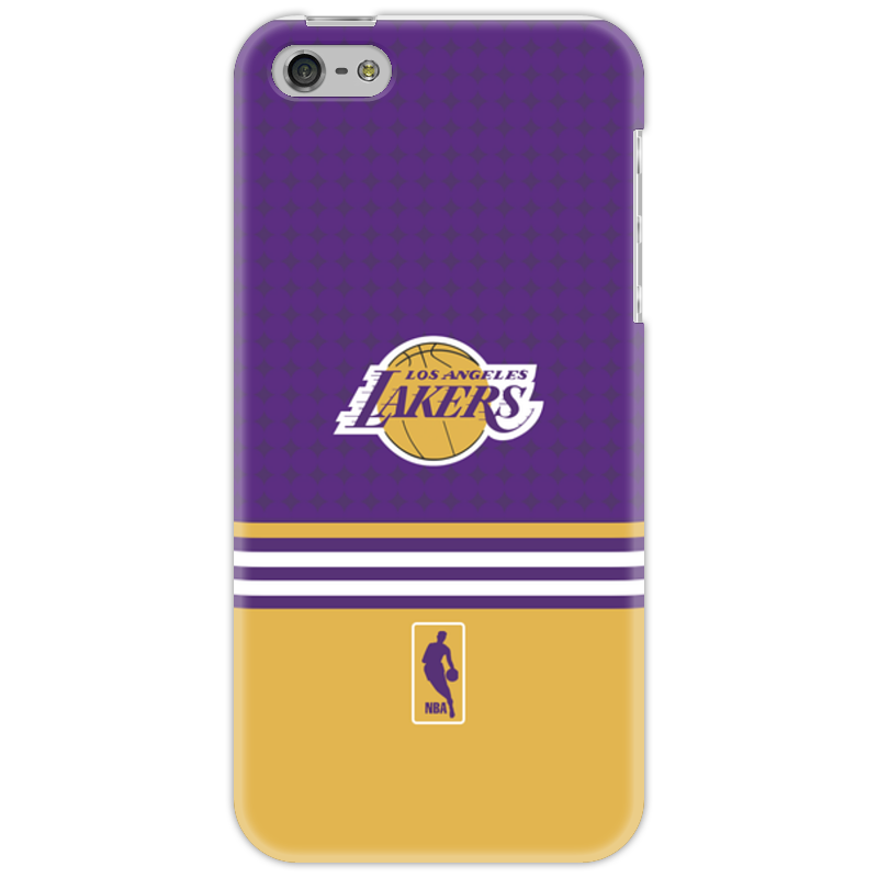 Чехол для iPhone 5 Printio Lakers case pro баскетбольную форму lakers