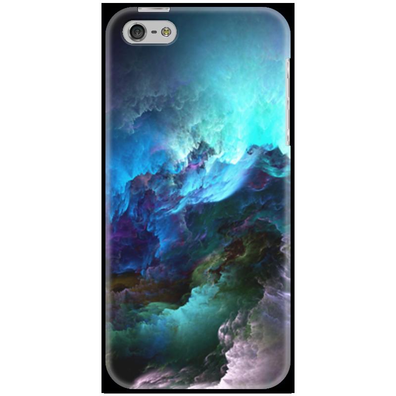 Чехол для iPhone 5 Printio Космос в тебе! мясоедов в черный космос