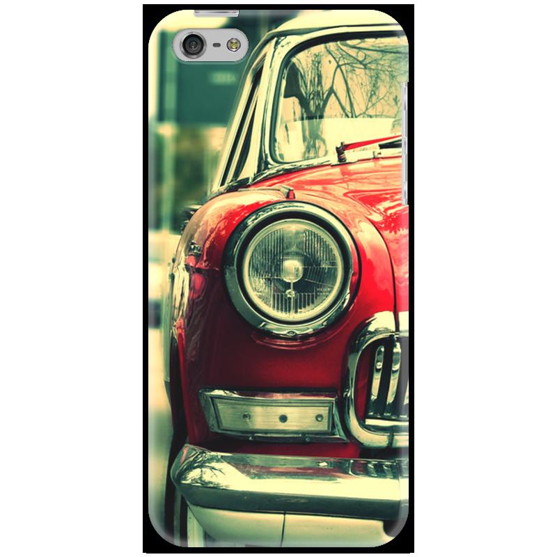 Чехол для iPhone 5 Printio Ретро 2 чехол для iphone 5 5s ретро павлин bird блесточки кобура горный хрусталь полиуретан кожа откидной чехол