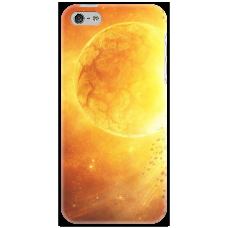 Чехол для iPhone 5 Printio The sun увлекательный космос для самых маленьких