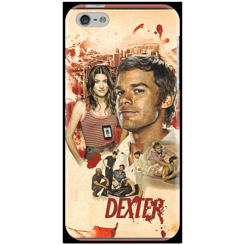 Чехол для iPhone 5 Printio Dexter