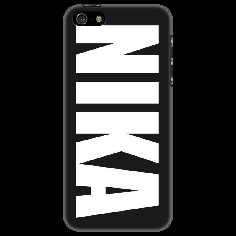 Чехол для iPhone 5 Printio С именем ника чехол для iphone 5 printio с именем лиза