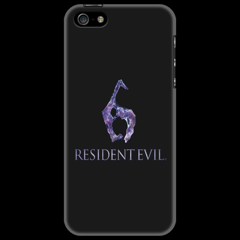Чехол для iPhone 5 Printio Resident evil 6 resident evil 5 русский язык sony playstation 4 ролевая боевик