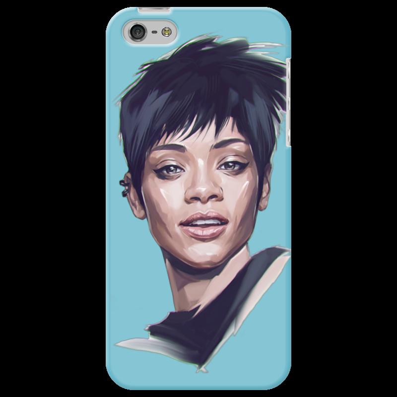 Чехол для iPhone 5 Printio Rihanna стоимость