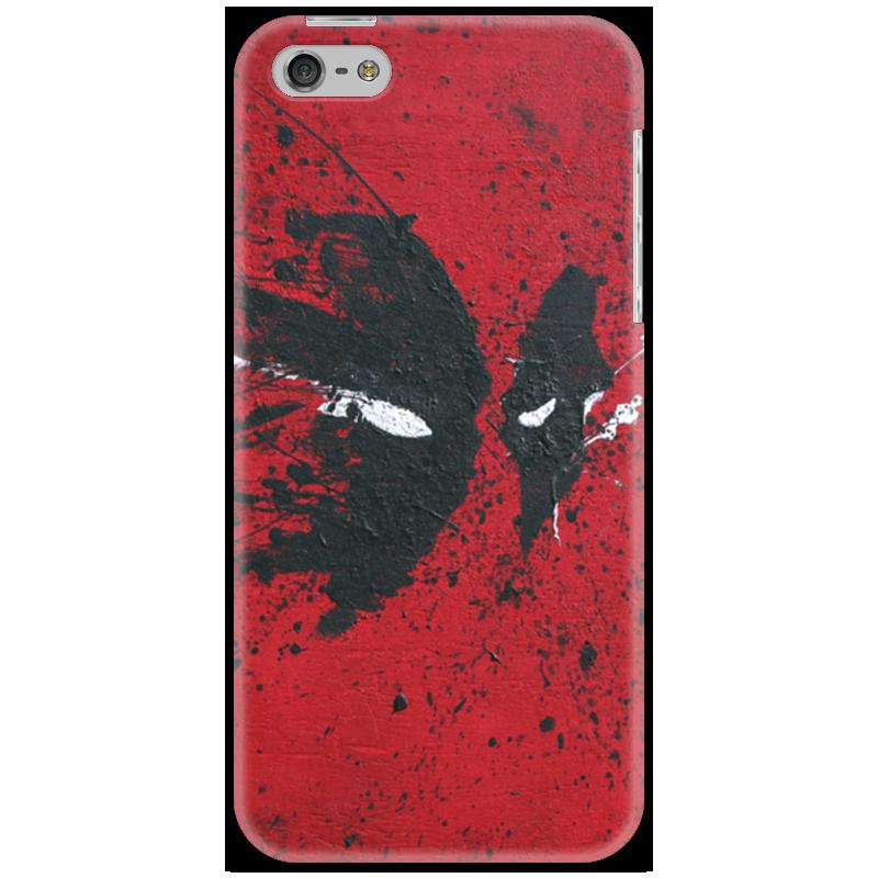 Чехол для iPhone 5 Printio Deadpool чехол для iphone 5 printio deadpool versus hulk