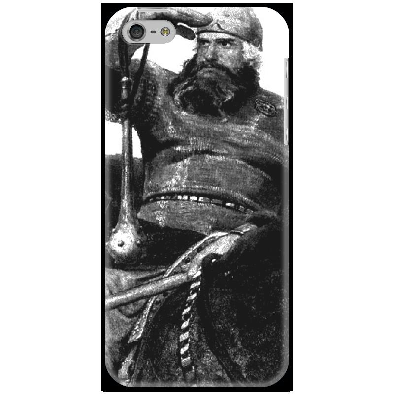 Чехол для iPhone 5 Printio Богатырь