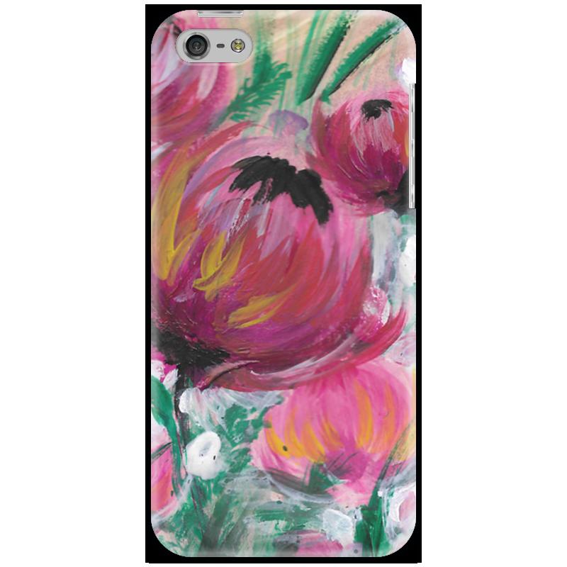 Чехол для iPhone 5 Printio Полевые цветы st баллон для автоматического освежителя воздуха полевые цветы 39 мл