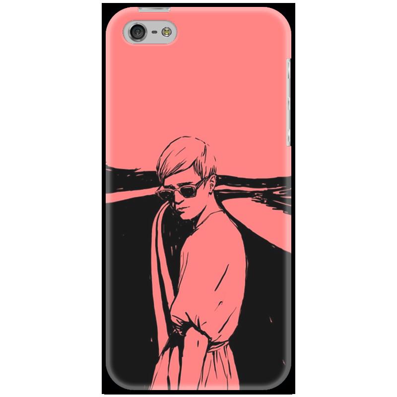 Чехол для iPhone 5 Printio Pink style стоимость