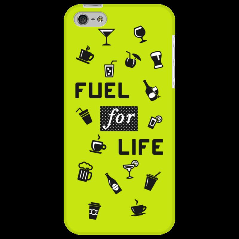 Чехол для iPhone 5 Printio Fuel for life