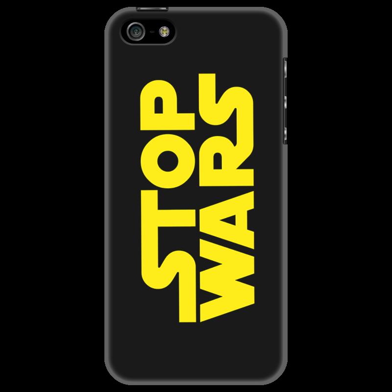 Чехол для iPhone 5 Printio Stop wars формирование социальной ответственности студента