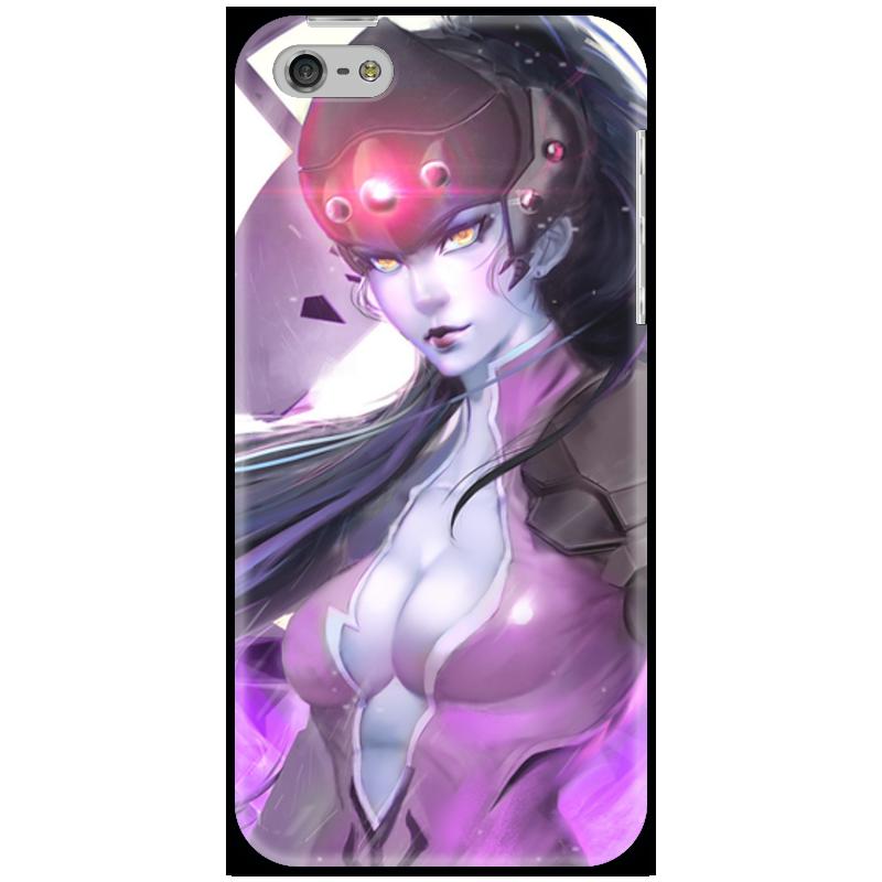 Чехол для iPhone 5 Printio Overwatch: widowmaker