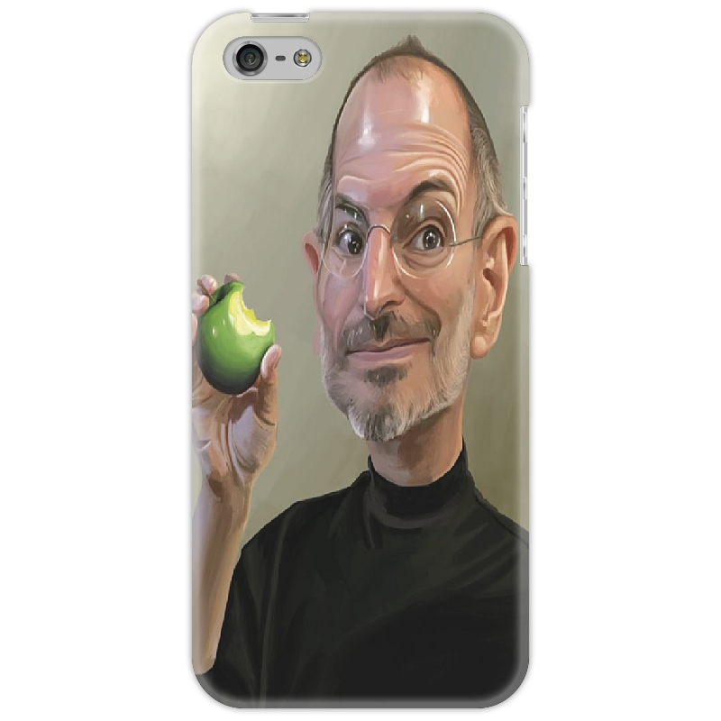 Чехол для iPhone 5 Printio Steve jobs yukari iwatani kane haunted empire apple after steve jobs