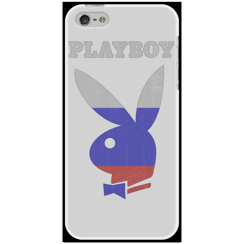 цена на Чехол для iPhone 5 Printio Playboy россия