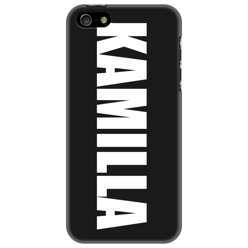 Чехол для iPhone 5 Printio С именем камилла чехол для iphone 5 printio с именем анна
