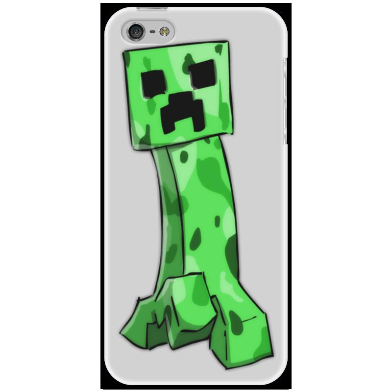 Чехол для iPhone 5 Printio Minecraft creeper чехол для iphone 5 printio minecraft чехол