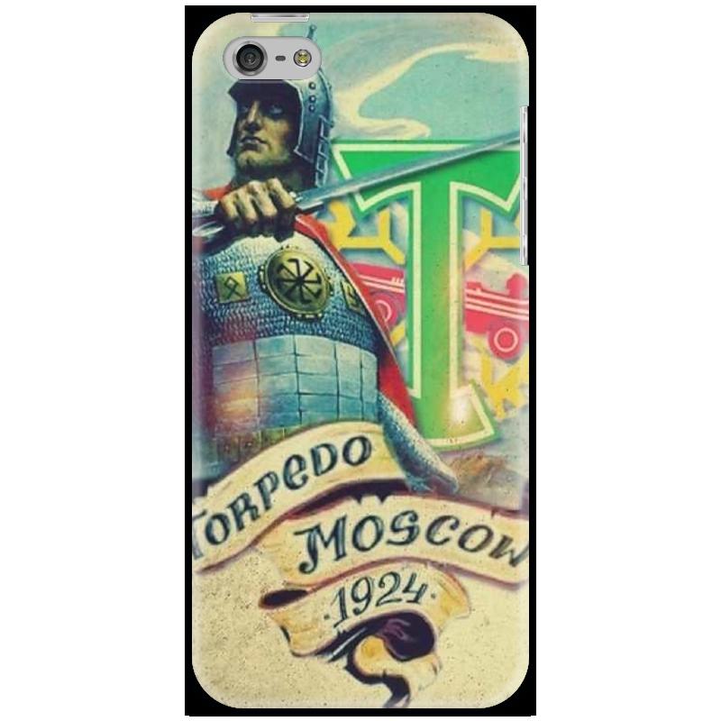 Чехол для iPhone 5 Printio Torpedo moscow бу iphone 4 москва