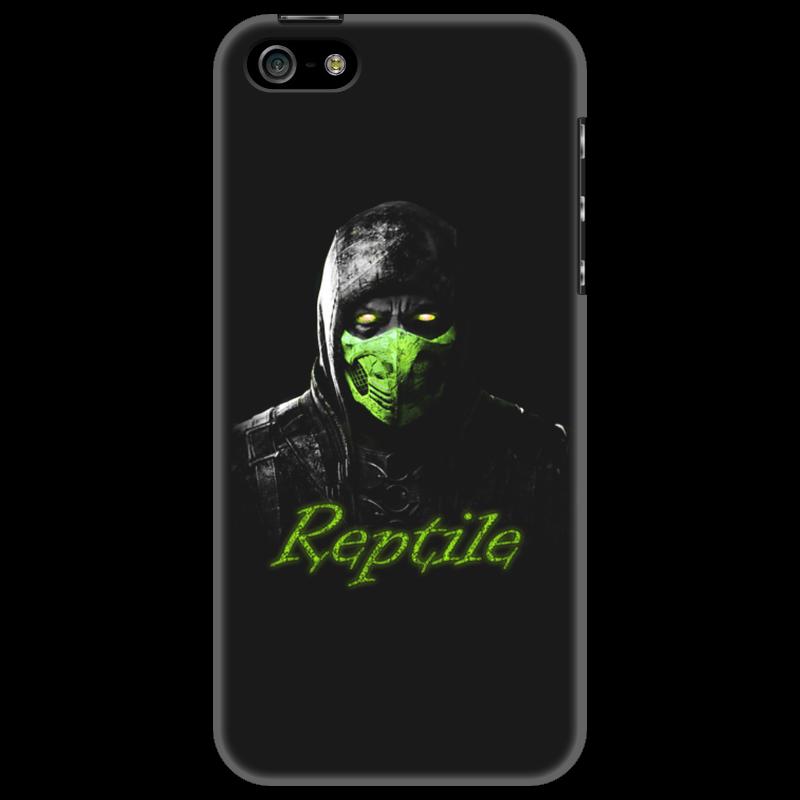 Чехол для iPhone 5 Printio Reptile чехол