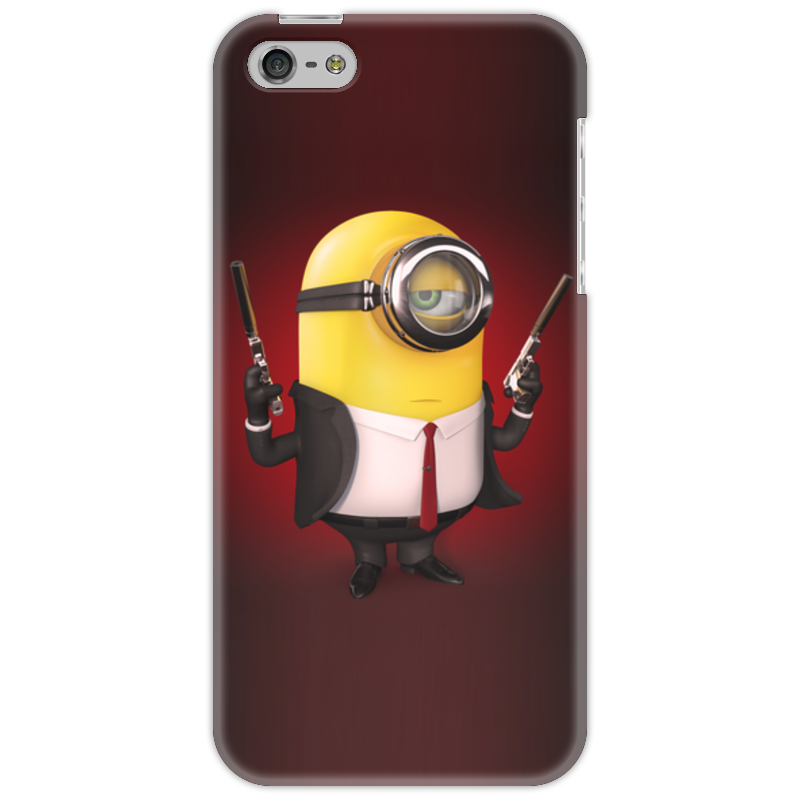 Чехол для iPhone 5 Printio Minion hitman чехол