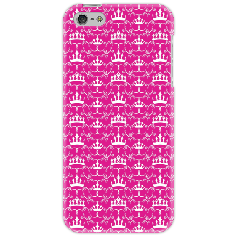 Чехол для iPhone 5 Printio Короны принцесс