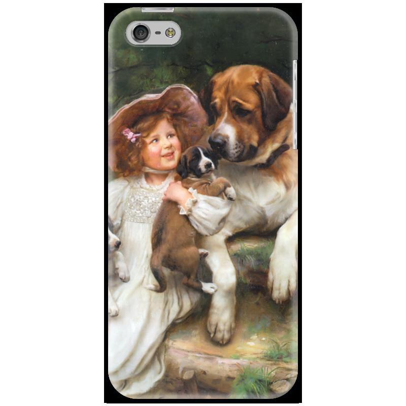 Чехол для iPhone 5 Printio Картина артура элсли (1860-1952) картины magic home картина репродукция дворик