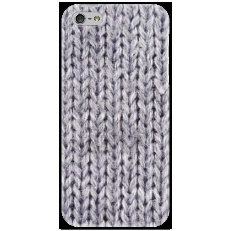 Чехол для iPhone 5 Printio Вязаный телефон телефон