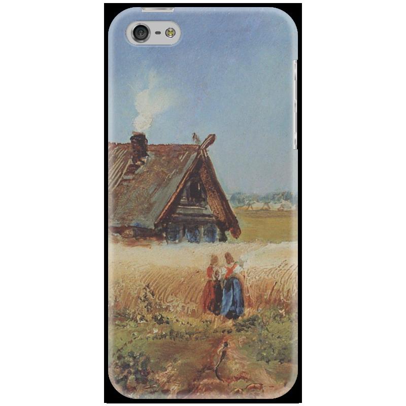 Чехол для iPhone 5 Printio Кутузовская изба