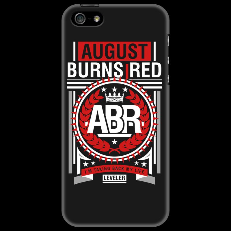 Чехол для iPhone 5 Printio August burns red чехол для iphone 5 03 red