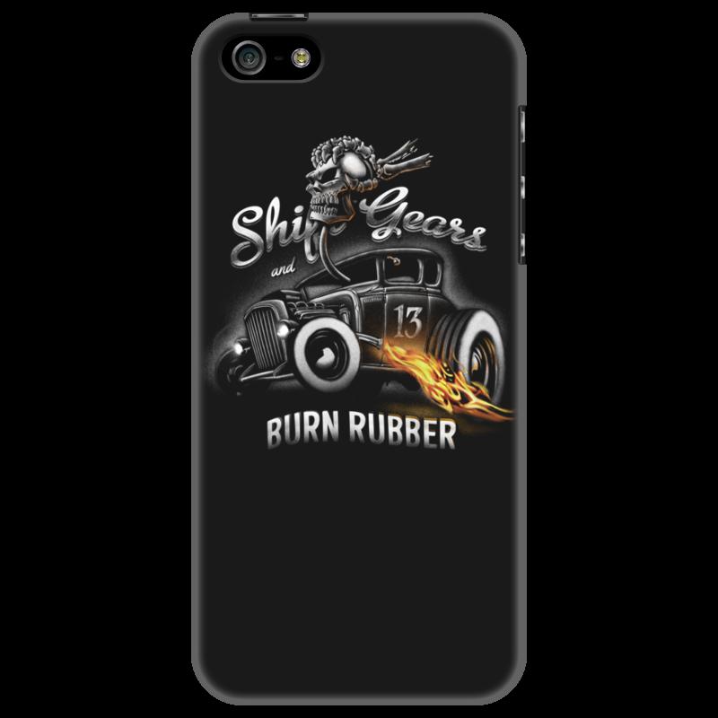 Чехол для iPhone 5 Printio Shift gears...