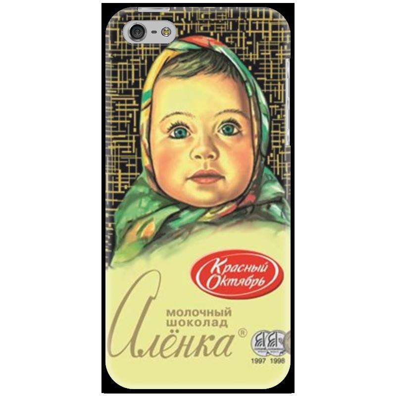 Чехол для iPhone 5 Printio аленка купить чехол для айфона 4 с камнями