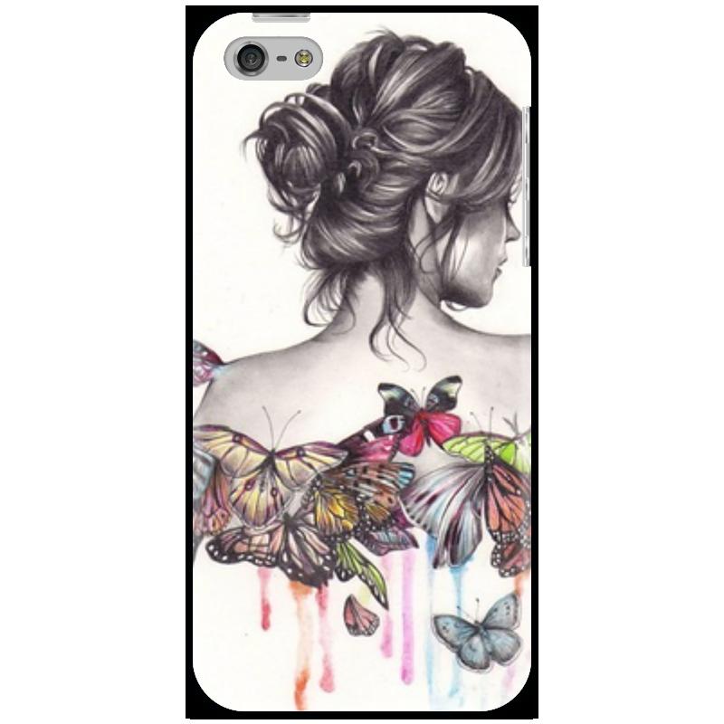 Чехол для iPhone 5 Printio Девушка чехол для iphone 5 printio чехол для iphone девушка